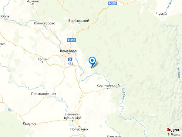 деревня Воскресенка на карте