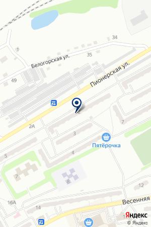АКЦЕНТ на карте Киселевска