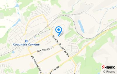 Местоположение на карте пункта техосмотра по адресу Кемеровская область - Кузбасс, г Киселевск, ул Краснобродская, д 2А
