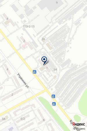 АВТОШКОЛА АНО на карте Киселевска