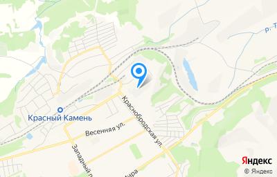 Местоположение на карте пункта техосмотра по адресу Кемеровская область - Кузбасс, г Киселевск, ул Краснобродская, д 9