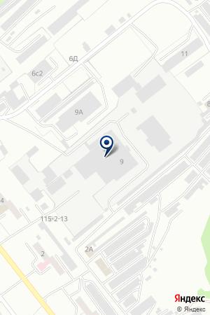 СТРОИТЕЛЬНАЯ КОМПАНИЯ ДЕКОР на карте Киселевска