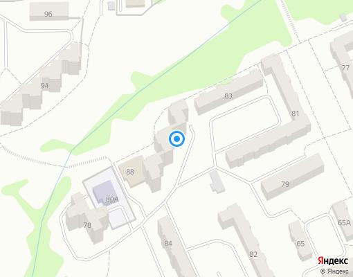 Товарищество собственников жилья «ТСЖ №18» на карте Прокопьевска