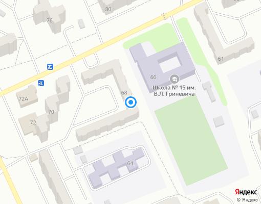Жилищно-строительный кооператив «ЖСК № 14» на карте Прокопьевска