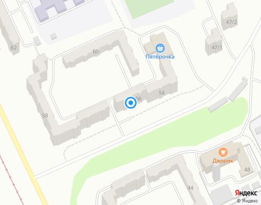Товарищество собственников жилья «ТСЖ №15» на карте Прокопьевска