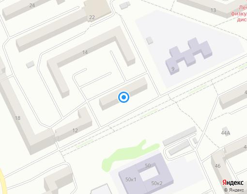 Товарищество собственников жилья «ТСЖ №9» на карте Прокопьевска