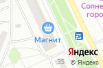 Схема проезда до компании По карману в Прокопьевске