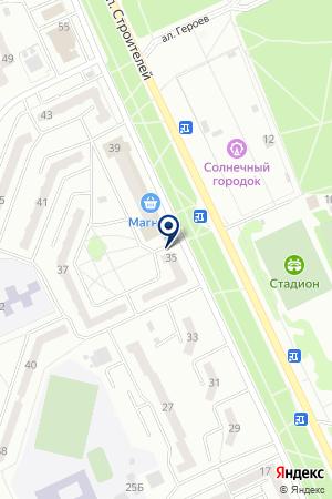 Валерия на карте Прокопьевска