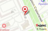 Схема проезда до компании Скл в Прокопьевске