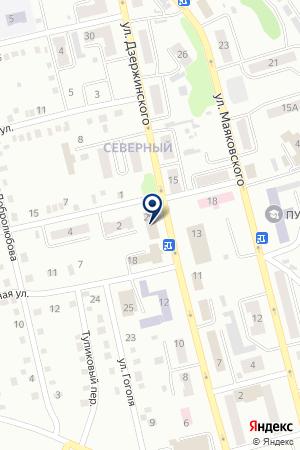 АНО РЕДАКЦИЯ ГОРОДСКАЯ МАССОВАЯ ГАЗЕТА на карте Киселевска