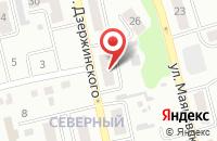 Схема проезда до компании Мегаполис в Киселевске