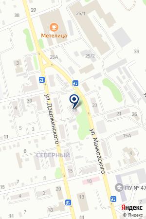 АПТЕКА ВЕРБЕНА на карте Киселевска