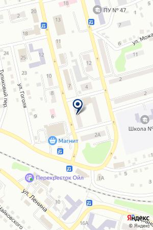 АПТЕКА БОРОВИКОВА Т.А. на карте Киселевска