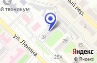 Схема проезда до компании ФОНД ПОДДЕРЖКИ ПРЕДПРИНИМАТЕЛЬСТВА в Киселевске