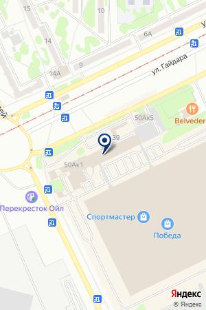 АВТОМАГАЗИН КУЗБАСС-КОМ на карте Прокопьевска