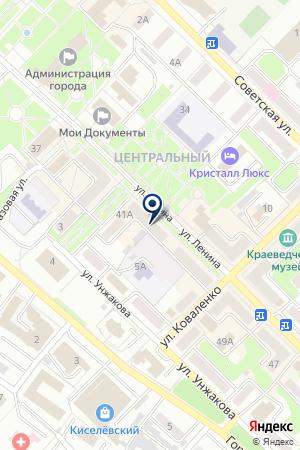 САЛОН СОТОВОЙ СВЯЗИ МТС на карте Киселевска
