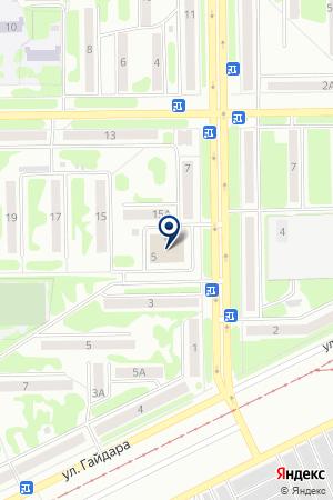 РАЗВЛЕКАТЕЛЬНЫЙ ЦЕНТР МАСШТАБ на карте Прокопьевска