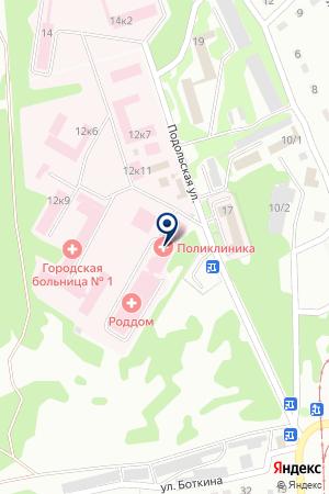 МУП ДЕПО ТРАМВАЙНОЕ ХОЗЯЙСТВО на карте Прокопьевска