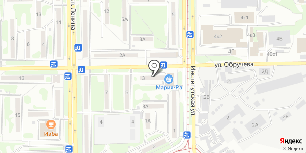 Кадастр. Схема проезда в Прокопьевске