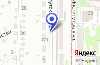 Схема проезда до компании КАБИНЫ ОС ТПП в Прокопьевске