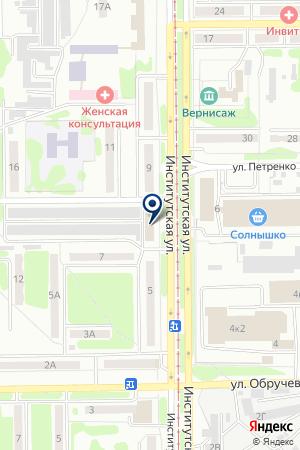 АВТОСАЛОН АМИГАСТО на карте Прокопьевска