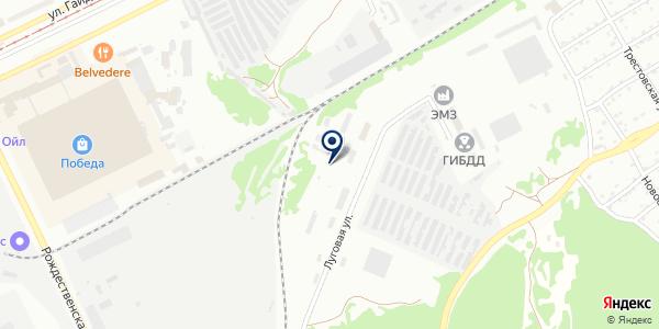 Спецавтохозяйство на карте Прокопьевске