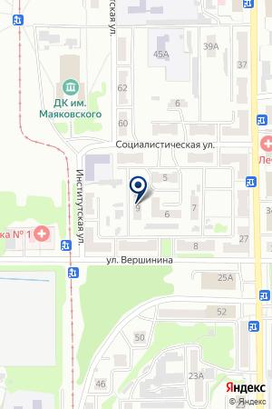 МУП ЖИЛИЩНОЕ ХОЗЯЙСТВО на карте Прокопьевска