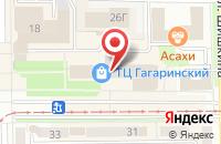 Схема проезда до компании Промтехкомплект в Прокопьевске