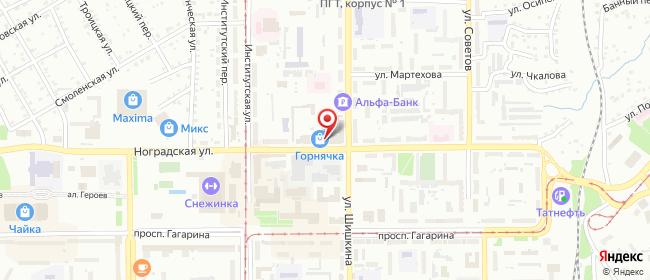 Карта расположения пункта доставки Westfalika в городе Прокопьевск