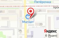 Схема проезда до компании Строй Сити в Прокопьевске