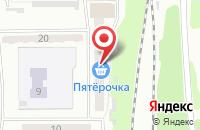 Схема проезда до компании Терминал-Трейдинг в Прокопьевске