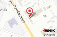 Схема проезда до компании Техагро в Киселевске