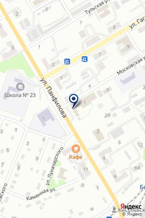 ТОРГОВАЯ ФИРМА СЕЛЬХОЗ ТЕХНИКА на карте Киселевска