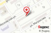 Схема проезда до компании Оникс в Киселевске