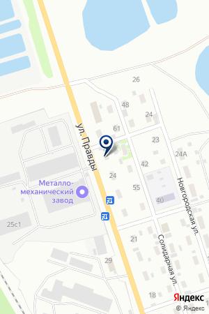 МЕТАЛЛО-МЕХАНИЧЕСКИЙ ЗАВОД на карте Прокопьевска