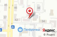 Схема проезда до компании Стрела в Прокопьевске