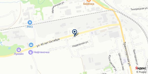 Мельник на карте Прокопьевске