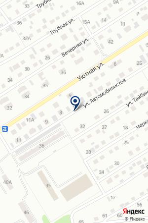 МАГАЗИН АВТОЗАПЧАСТИ НА ГАЗ на карте Киселевска