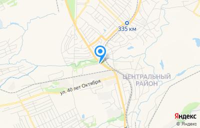 Местоположение на карте пункта техосмотра по адресу Кемеровская область - Кузбасс, г Прокопьевск, ул Мельничная, зд 1