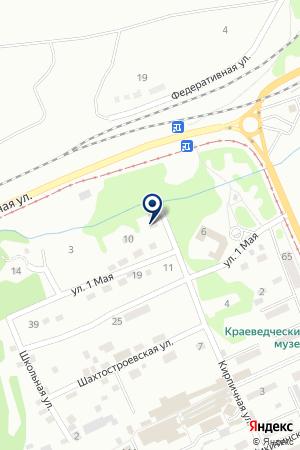 АВТОСАЛОН САМУРАЙ МОТОРС на карте Прокопьевска