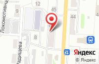 Схема проезда до компании Скорый в Прокопьевске