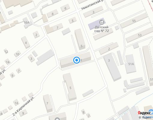 Управляющая компания «Управдом» на карте Прокопьевска