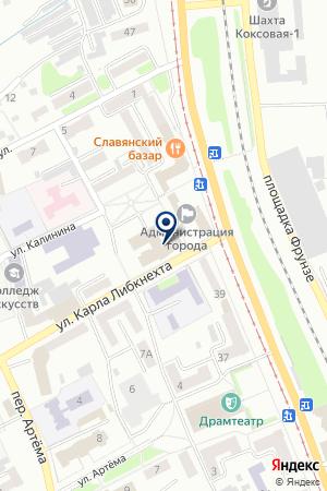АВТОТРАНСПОРТНОЕ ПРЕДПРИЯТИЕ ТРАСГАРАНТ на карте Прокопьевска