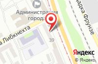 Схема проезда до компании Линап в Прокопьевске