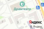 Схема проезда до компании Оливия в Прокопьевске