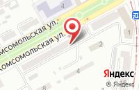 Схема проезда до компании Мск Инвент в Прокопьевске