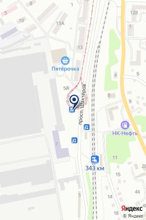 Любимый на карте Прокопьевска