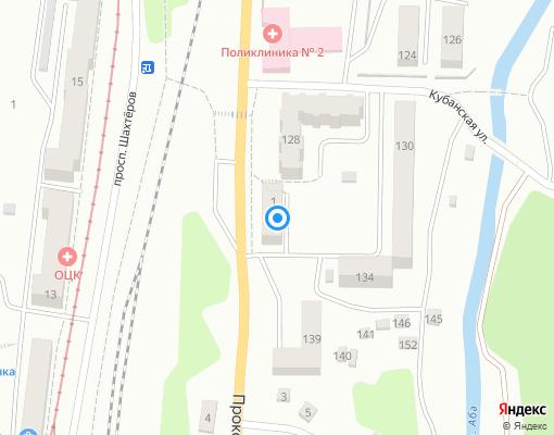 Товарищество собственников недвижимости «ТСЖ № 1» на карте Прокопьевска