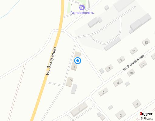 Управляющая компания «Жилищный фонд» на карте Прокопьевска