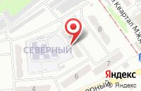 Схема проезда до компании Гюрза в Прокопьевске